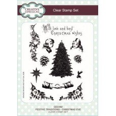 Festive Traditions Christmas Eve Clear Stamp Set