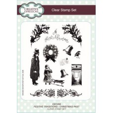 Festive Traditions Christmas Past Clear Stamp Set