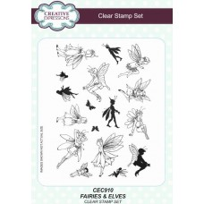 Fairies & Elves A5 Clear Stamp Set