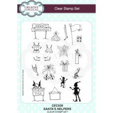 Santa's Helpers A5 Clear Stamp Set