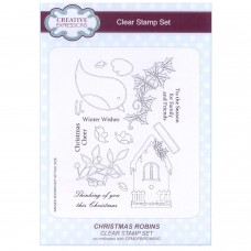 Christmas Robins A5 Clear Stamp Set - SOLD OUT