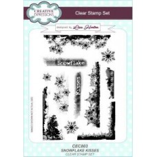 Snowflake Kisses Clear Stamp Set