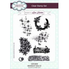 Midnight Waltz Clear Stamp Set