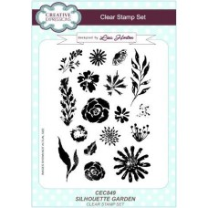Silhouette Garden A5 Clear Stamp Set