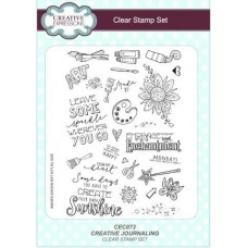 Creative Journaling A5 Clear Stamp Set