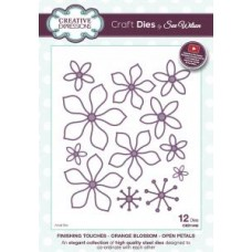 Finishing Touches Collection  - Orange Blossom-Open Petals Die