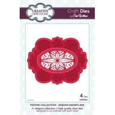 Festive Collection - Deboss Snowflake Dies