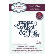 Festive Collection - Tidings of Comfort & Joy Die