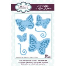 Cut and Lift Collection Butterflies Craft Die