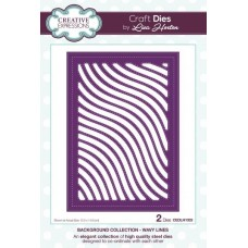 Background Collection Wavy Lines Craft Die