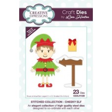 Stitched Collection - Cheeky Elf Craft Die
