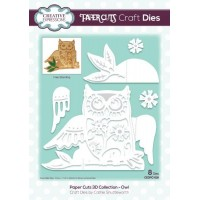 Paper Cuts 3D Collection Owl Die