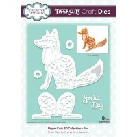 Paper Cuts 3D Collection Fox Die
