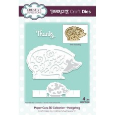 Paper Cuts 3D Collection Hedgehog Die