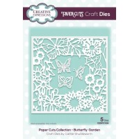 Paper Cuts Collection - Butterfly Garden Craft Die