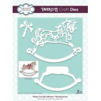 Paper Cuts 3D Collection - Rocking Horse