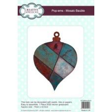 Pop-ems Mosaic Bauble Ornament