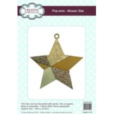 Pop-ems Mosaic Star Ornament