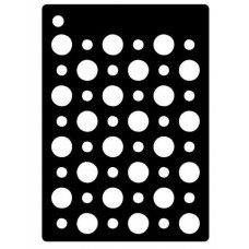 Creative Expressions Mini Stencil Double Dots