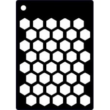 Creative Expressions Mini Stencil Honeycomb