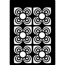 Creative Expressions Mini Stencil Mosaic Flower