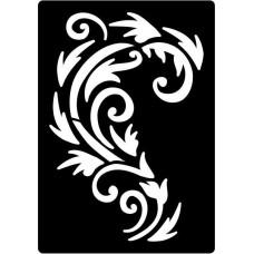 Creative Expressions Mini Stencil Regal Flourish