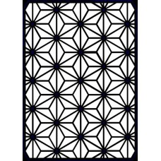 Creative Expressions A5 Stencil Geometric Star