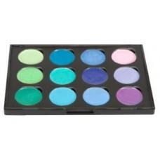 Iridescent Watercolour Palette Set 5 Greens & Purples