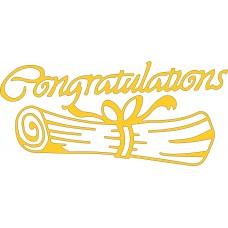 Cheery Lynn Designs Dies - Congratulations