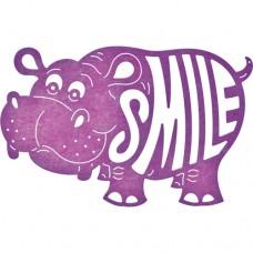 Cheery Lynn Designs Dies - Happy Hippo