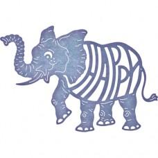 Cheery Lynn Designs Dies - Eloise the Elephant