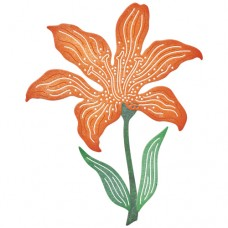 Cheery Lynn Designs Dies - Tiger Lily