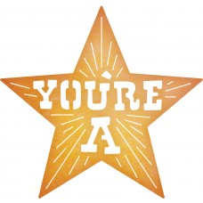 Cheery Lynn Designs Dies - You're a Star