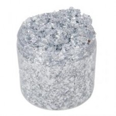Cosmic Shimmer Gilding Flakes Silver Moon 200ml