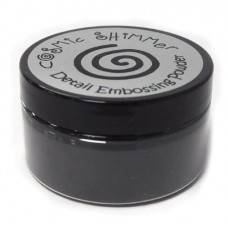 Cosmic Shimmer Detail Emboss Powder 100 ml Black