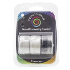 Cosmic Shimmer - Detail Embossing Powder Trio - Essentials