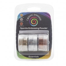 Cosmic Shimmer - Sparkle Embossing Powder Trio - Essentials