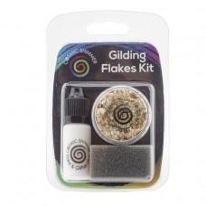 Cosmic Shimmer - Gilding Flakes Kit - Golden Jewels