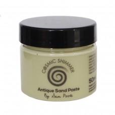 Cosmic Shimmer - Sam Poole Antique Sand Paste - Moss Blanket