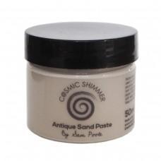 Cosmic Shimmer - Sam Poole Antique Sand Paste - Shabby Truffle