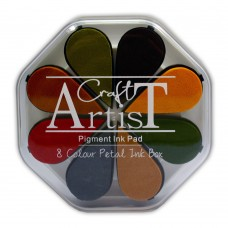 Craft Artist Pigment Ink Petals - Autumn