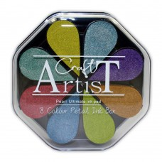 Craft Artist Pigment Ink Petals - Pearl