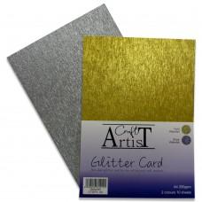 Craft Artist - A4 Glitter Card - Waterfall