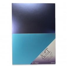 Craft Artist Mirror Card A4 - Saphire Blue