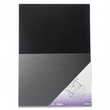Craft Artist Mirror Card A4 - Jet Black