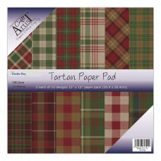 """Craft Artist - Tartan Paper Pad 12""""x12"""""""
