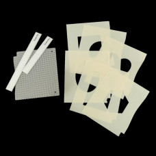 Crafts Too - Art Board and Stencil Set