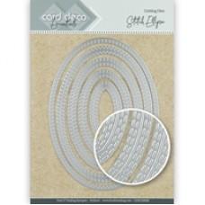 Card Deco Essentials Cutting Dies - Stitch Ellipse