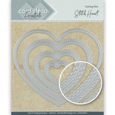 Card Deco Essentials Cutting Dies - Stitch Heart