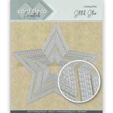 Card Deco Essentials Cutting Dies - Stitch Stars